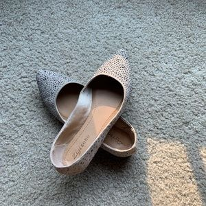Barely used neutral flats